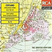 Aaron Copland - Copland: Appalachian Spring; Billy the Kid (CD 1994)