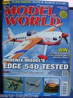 RCMW RC MODEL WORLD OCTOBER 2011 BUZZ B PLAN WESTLAND LYSANDER AT 6 TEXAN
