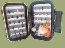 Coffret Trout Fishing Flies, 45 par boîte, peu de tout, Mélange Tailles