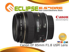 Canon EF 85mm 85 mm f/1.8 F1.8 USM Lens + 1 Year Au Wty Super Deal