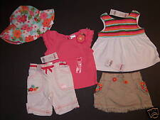 NWT Gymboree Tropical Garden Top Pants Skirt Hat 3-6