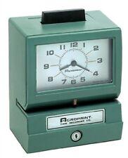 Acroprint Heavy Duty Time Clocks- Manual-125Nr4 01-1070-411 TIME CLOCKS NEW
