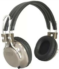 California Headphone Company On Ear Metal and Leather Headphones - Laredo - New