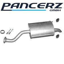 Auspuff Mittelschalldämpfer Honda Jazz II 1.2 /& 1.3 2002-2008 Schalldämpfer