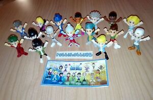 TEEN IDOLS COMPLETE SET WITH ALL PAPERS KINDER SURPRISE 2017