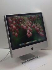 "Apple iMac 24"" 8.1 C2D 2.8 GHz 320GB 4GB RAM HD2600  OSX 10.11 Wi-Fi Warranty/27"