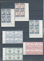 Middle East Jordan UPU and other mint stamp control blks