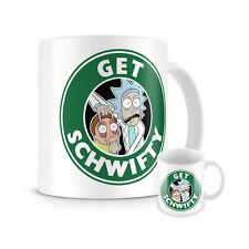 Rick And Morty Mug Gift Coffee Tea Cup New Starbucks Kitchen Birthday DVD Tshirt