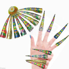 Wholesale10pcs Chinese Traditional Qing Style Handmade Cloisonne Nail Protector