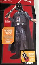 New Star Wars Darth Vader Halloween Costume Size Boy's Large 12-14 Rubies Target