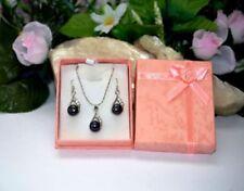 Strasssteine Modeschmuck-Halsketten & -Anhänger aus Perlen für Damen