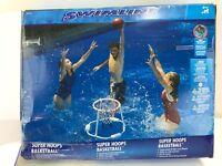 Pool Fun Super Hoops Floating Basketball Game Outdoor Water Play Beach #TEWW5