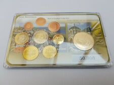 9 Different Euro coins Prestige Set Excellent Condition Riga Latvia
