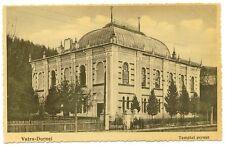 Romania Bukowina 1920s Vatra Dornei Judaica,Synagogue,peoples,rare old postcard!