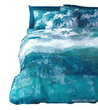 Trapunta invernale matrimoniale St. Digitale Soft Layers Azzurro Life Bassetti