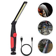 Rechargeable Led Cob Work Light Mechanic Flashlight Lamp Bar Camping Torch Usa