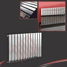 "1000mm(w) x 600mm(h) ""Luna"" Chrome Designer Horizontal Radiator 13 Flat Panels"