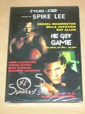 BOITIER 2 DVD SPIKE LEE / HE GOT GAME + SUMMER OF SAM / NEUF SOUS CELLO