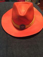 Set of 3 Vintage Jumbo Critter Western Cowboy Hat Tacks Enamel Pins Mint
