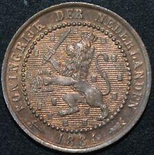 1881 | Netherlands 1 Cent | Bronze | Coins | KM Coins