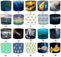 Submarines Lampshades, Ideal To Match Submarines Duvets, Quilts & Bedspreads