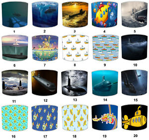 Submarines Lampshades, Ideal To Match Submarines Decorative Quilts & Bedspreads