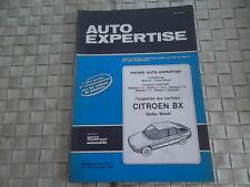 REVUE AUTO EXPERTISE CARROSSERIE CITROEN BX CARBU. DIESEL