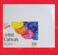 25x30cm Artist Canvas Panel Blank White Painting Board Kids Adult Art Craft New