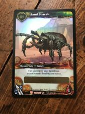 WOW TCG SAND SCARAB UNSCRATCHED LOOT CARD