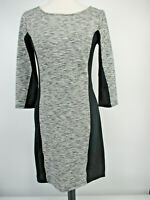 Old Navy Size S Small Sweater Dress Long Sleeves Gray Fitted Spandex Women's