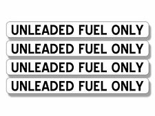.5 x 4 inch 4 Pack: DIESEL FUEL ONLY Stickers - gas gasoline use bio small green