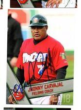Jhonny Carvajal signed autographed 2018 Fort Wayne Tincaps card
