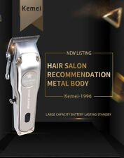 Kemei KM-1996 Metal Electric Hair Clipper Professional  Home Hair Trimmer Tool