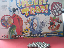 HASBRO MOUSETRAP GAME Toilet 3x Replacement Spare Steel Balls Bearings 2006 2011