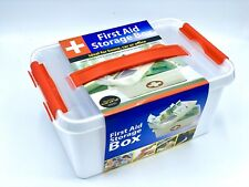 First Aid Storage Box Empty Kit Bag Travel Sport Medical Emergency Outdoor Camp!