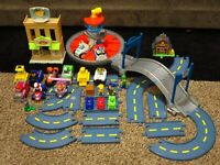 Paw Patrol Launch N Roll Lookout Tower Adventure Bay Cars Lot