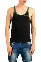 "Emporio Armani ""Underwear"" Men's Black Stretch Tank Top US S/M IT 48"