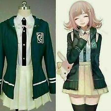 New listing UK DanganRonpa 2 Super Chiaki Nanami Cosplay Costume School Uniform Dress 2021
