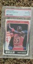 1988-89 Michael Jordan (GOAT) Fleer #17 Gem Mint 10 GENUINE RP . 2022 = $200