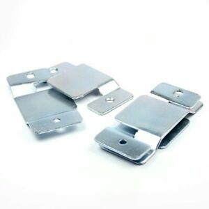 4 x Metal Corner sofa interlocking Connecting Clips Bracket Plates
