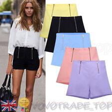 Sale Summer Womens Shorts Ladies High Waist Casual Hot Pants Fashion Mini Shorts