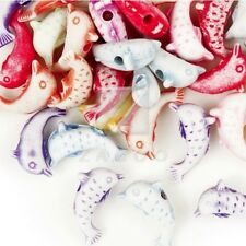 234pcs Animal Acrylic Beads Charms DIY Jewelry Making 12x6.5x4mm Assorted Color