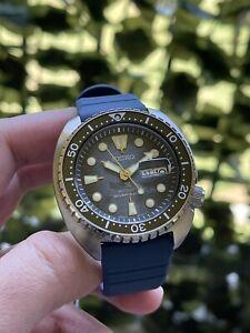 Seiko Men's Prospex Automatic King Turtle Divers 200M Watch SRPF77 Manta Ray