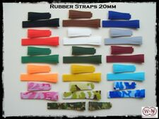 Cinturini Rubber in gomma per orologi sportivi Rolex misura 20/16mm
