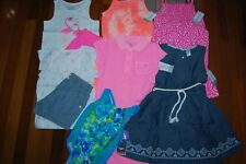 Girls 5 5T Spring Summer 9 Piece Lot Sets Dresses Swimsuit  RV $204