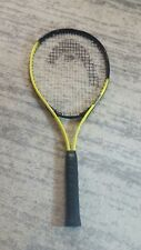 "HEAD TOUR PRO NANO TITANIUM TENNIS RACQUET  4 3/8"" 3 Grip Adult Yellow Black"