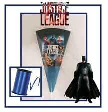 5 Justice league DIY/party bags/sweet cone/kit/boys girls birthday
