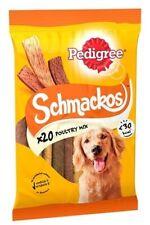 Pedigree Schmackos Poultry 20 Sticks (Pack of 12)
