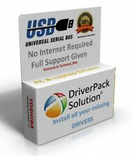 PC & LAPTOP Driver Pack For Windows XP/Vista/7/8/8.1/10 Install & Update USB