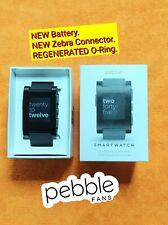 PEBBLE CLASSIC 301BL - muy BUENO!! - batería nueva - sn Q152055E02JF - leer más